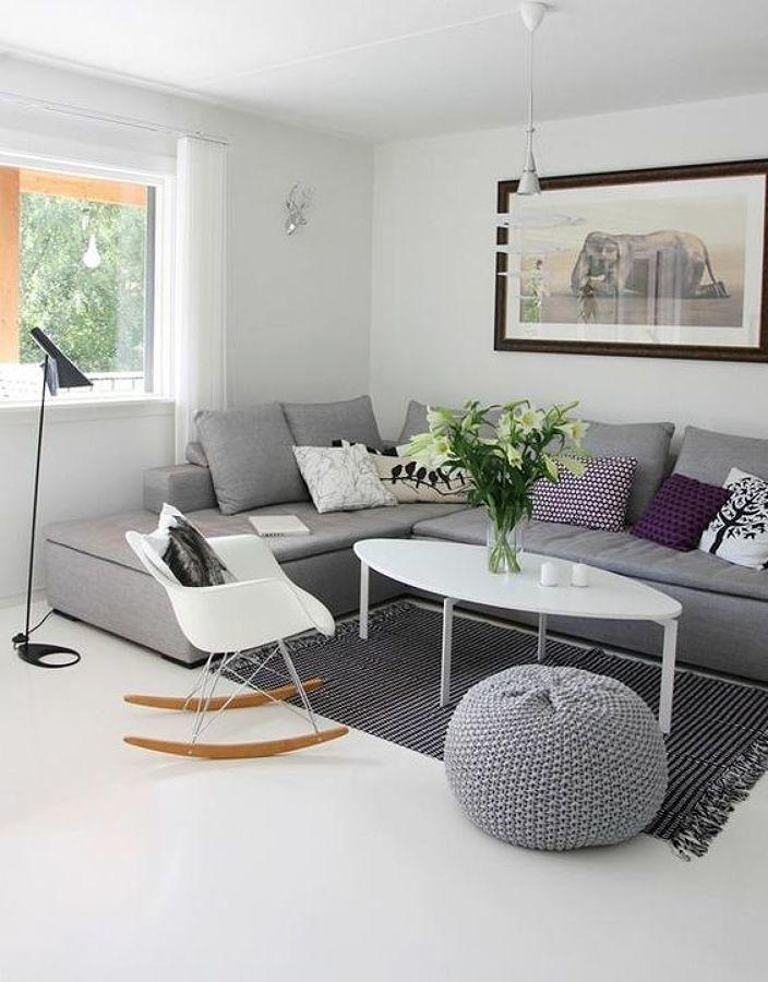 Divani home decor divani grigi arredamento casa e for Salotti colorati