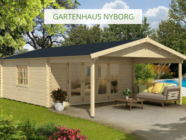 Gartenhaus Modell ISO mit Falttür (mit Bildern