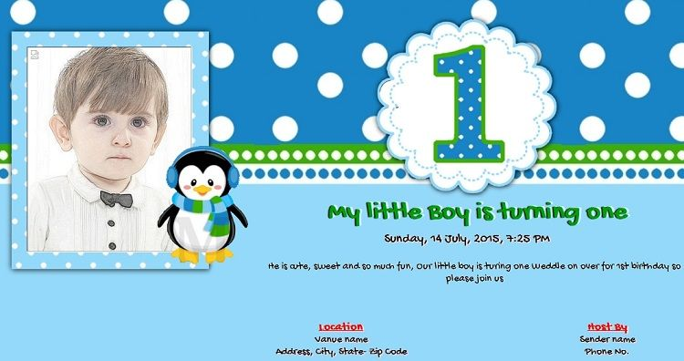 Discover Ideas About Birthday Invitation Card Online