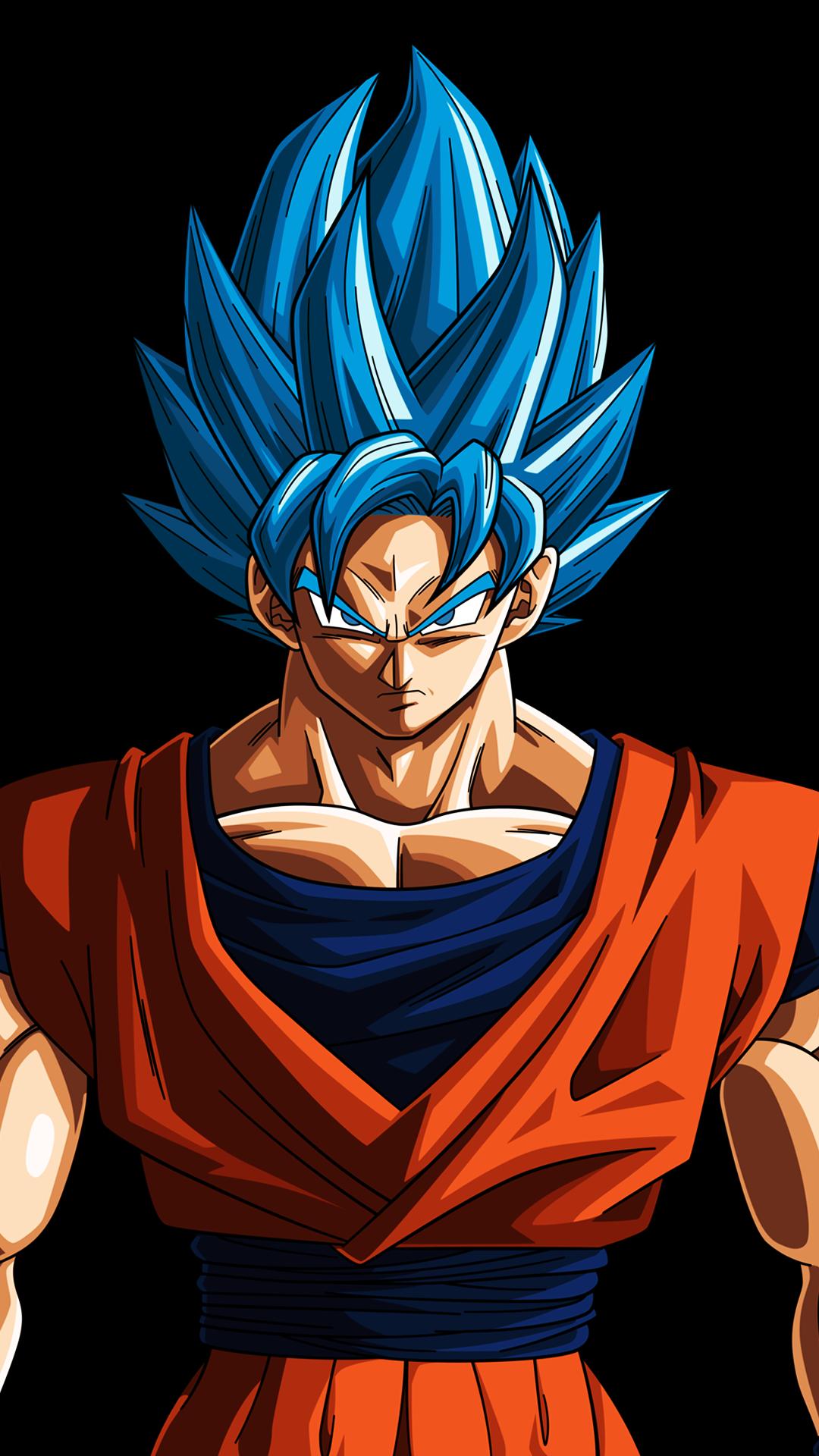 Goku SSJ Blue Evolution! [1080x1920] (i.redd.it) submitted