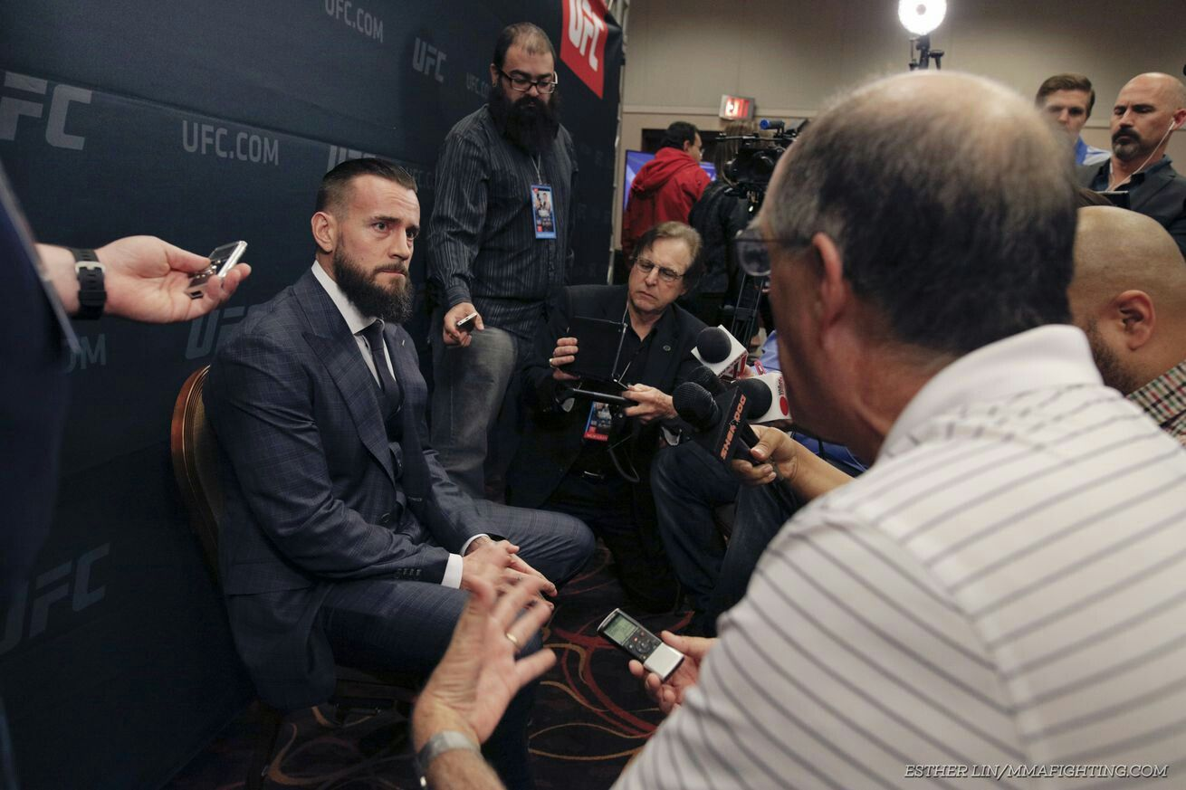 "CM Punk: 'I'm not gonna be the same guy you saw on a television show' at UFC 203  ""I wouldn't say it's unfair,"" Punk said. ""Life is unfair. But you can't listen to what somebody on the Internet is saying about you, you know? You dig hard enough you'll find negative stuff about everybody. I'm a positive guy. I know what I'm good at. I know what I'm gonna be good at. What I did a year and a half ago doesn't matter to me."""