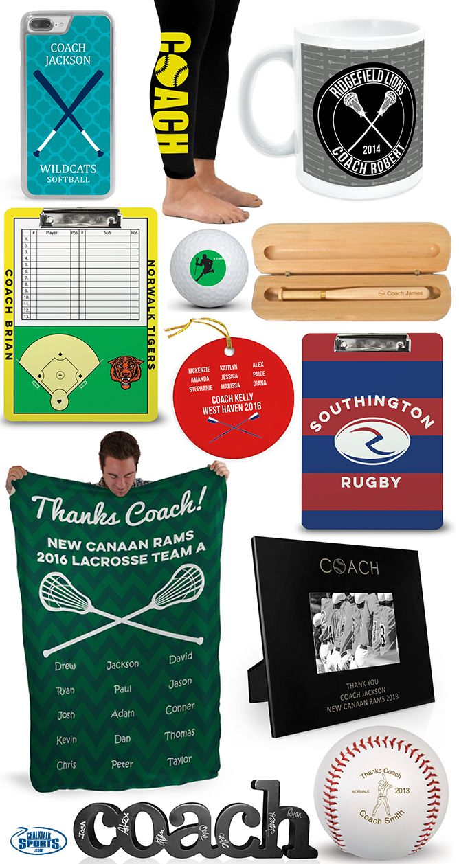 Thank your coach for all of their hard work and dedication this season with some of our favorite end-of-season gifts for coach!