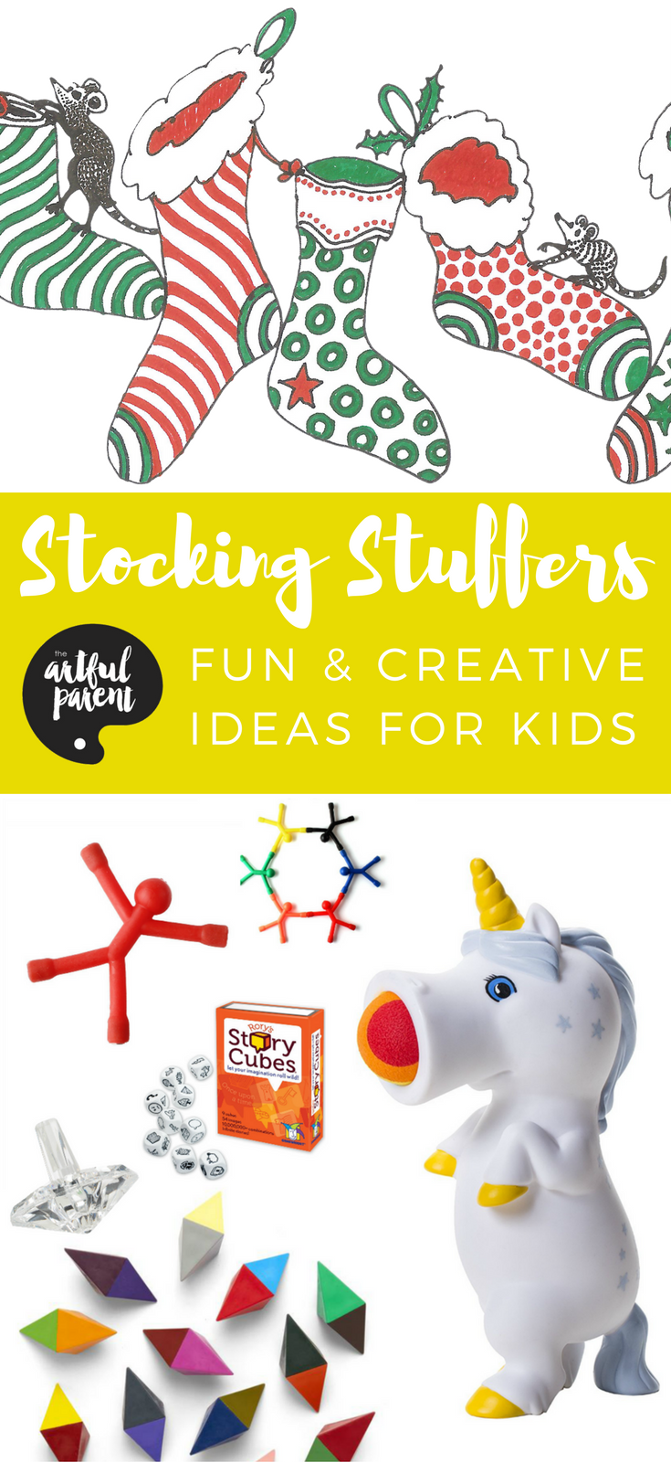 Stocking Stuffers for Kids - 27 Fun & Creative Ideas Kids Will Love