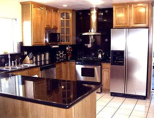 honey oak kitchen cabinets door solid color panel for sale update