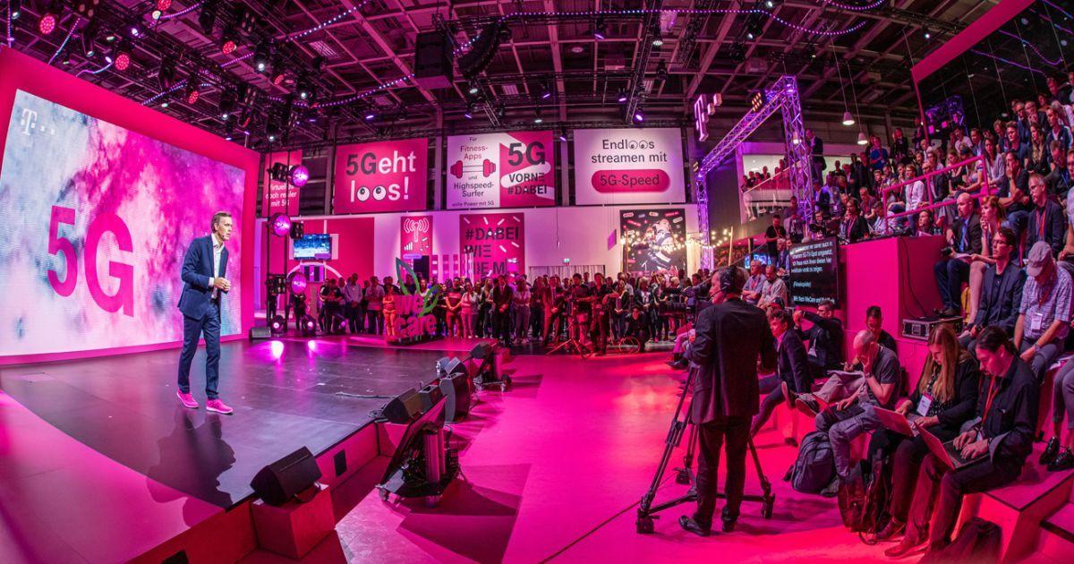 Innovation In Echtzeit Telekom Startet In Die 5g Zukunft