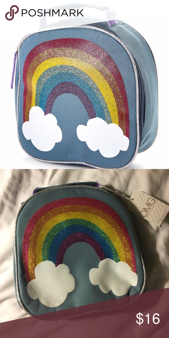 26696a712e8e NWT OMG! Accessories Rainbow Lunchbox Who Needs a NEW Lunchbox ...