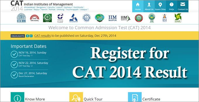 Http Www Mbauniverse Com Cat Result Cat Result Update Php Indian Institutes Of Management Exam Education