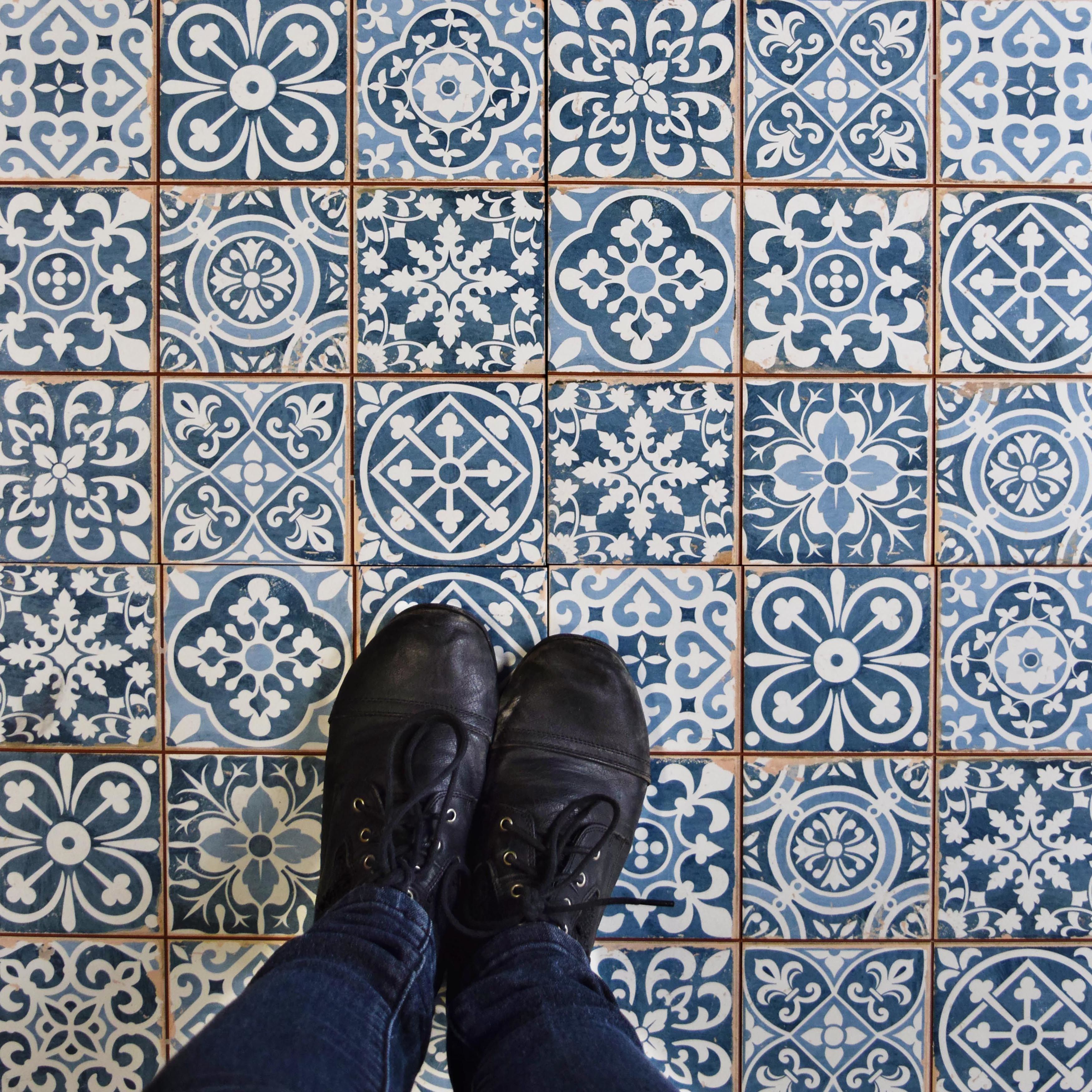 Faventie azul 13 x 13 ceramic field tile in blue fields elitetile faventie azul 13 x 13 ceramic field tile dailygadgetfo Choice Image