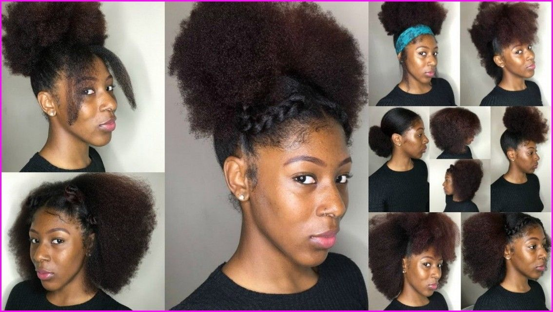 Easy To Do Hairstyles For Black Women With Images Natural Hair