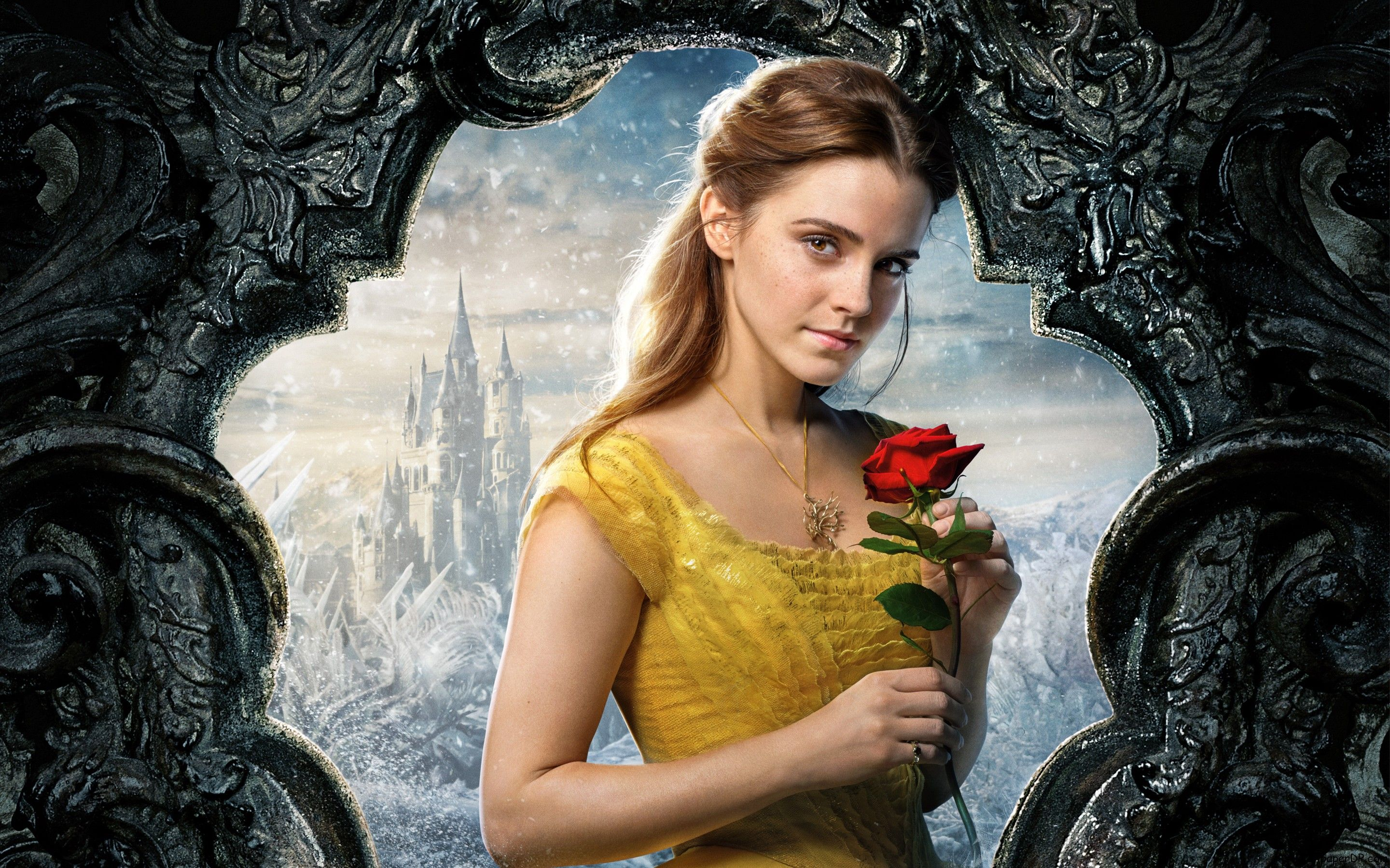 Image For Belle Beauty And The Beast Emma Watson 5k