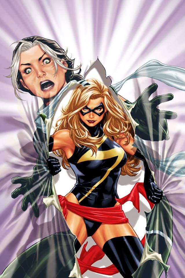 Rogue Ms Marvel Carol Danvers X Men Legacy Vol 1 269 Art By Mark Brooks Ms Marvel Ms Marvel Captain Marvel Marvel Comics Art