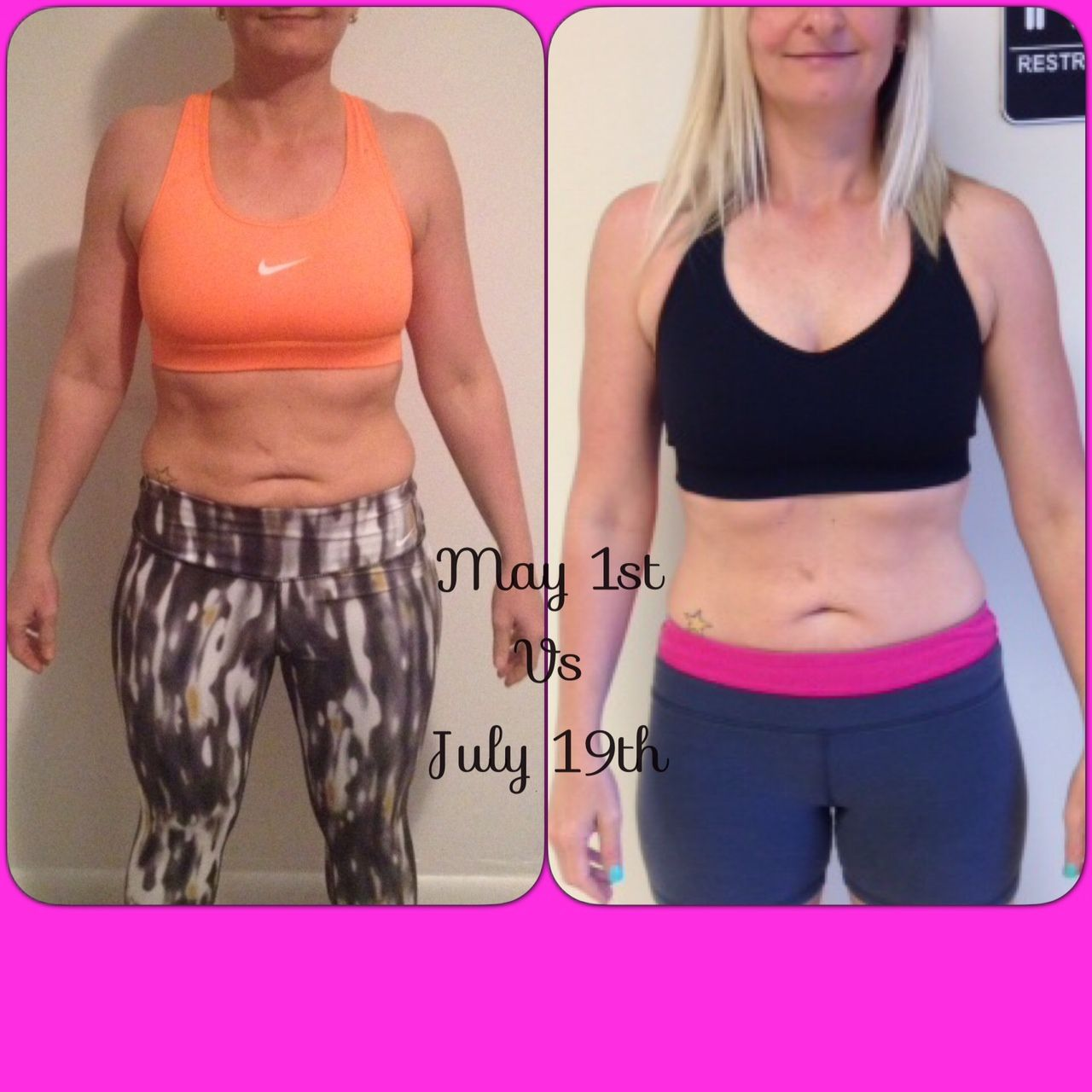 One of my hardest working clients! Beckie blew my away with this transformation.