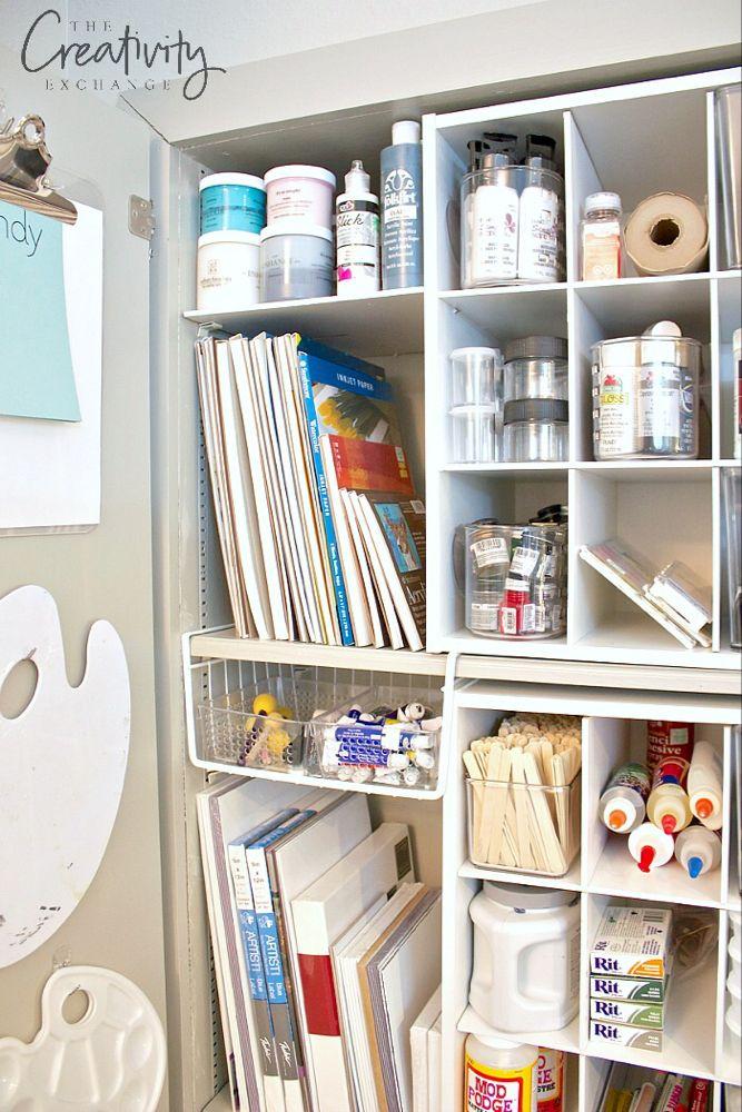 23+ Craft paint storage cabinet ideas