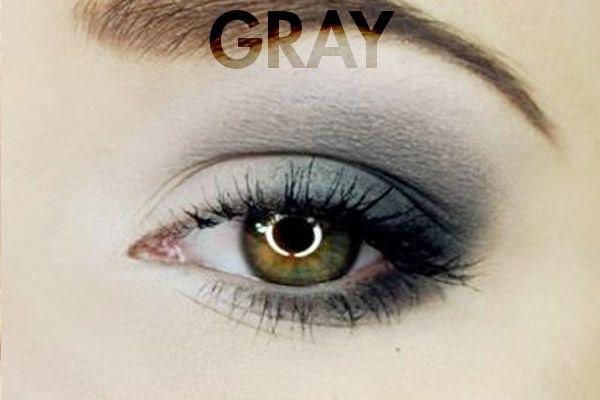 Gray Eye Makeup For Hazel Eyes