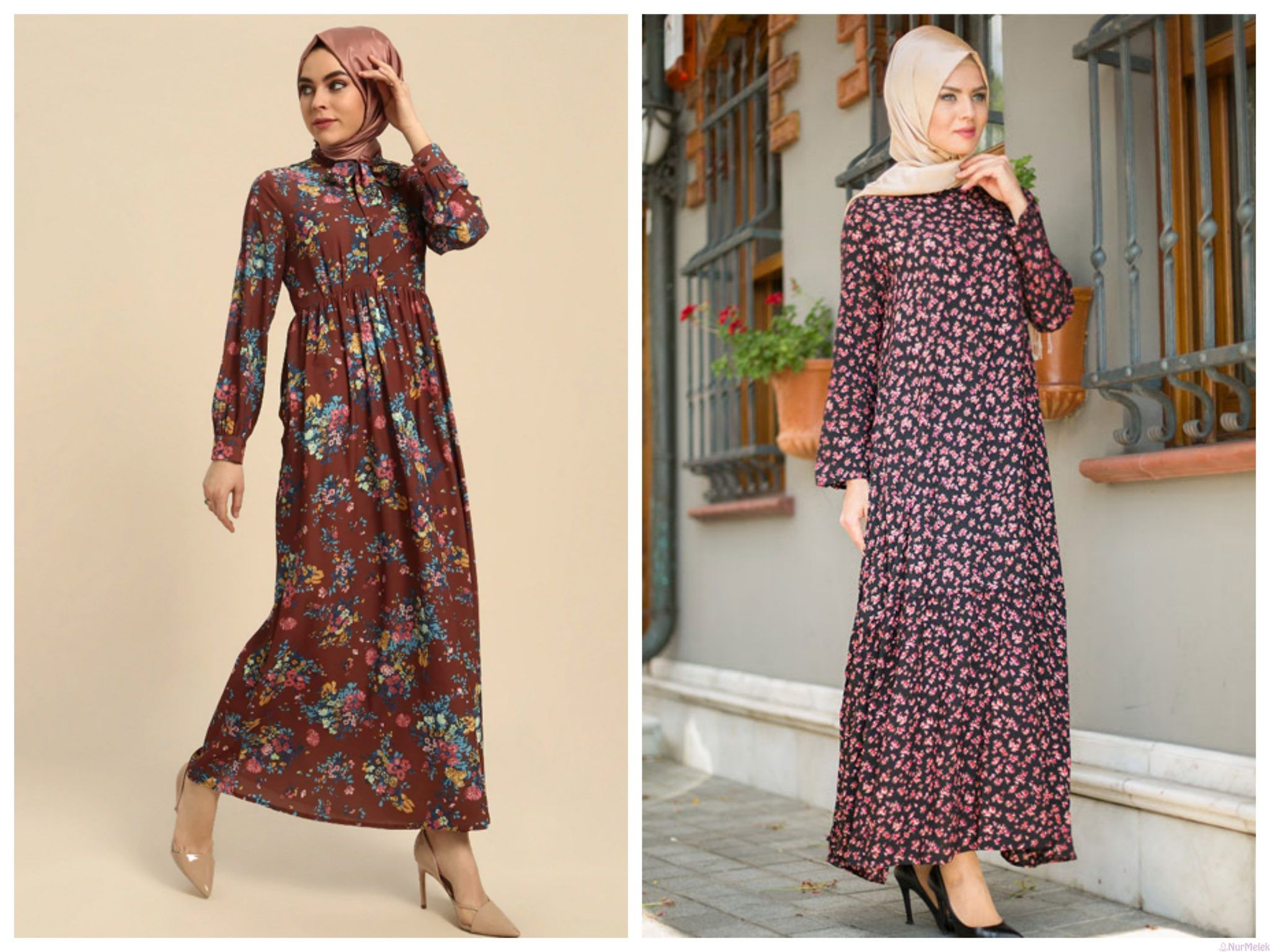 Modern Tesettur Boydan Elbise Modelleri Moda Tesettur Giyim Elbise Modelleri Elbise Maksi Elbiseler