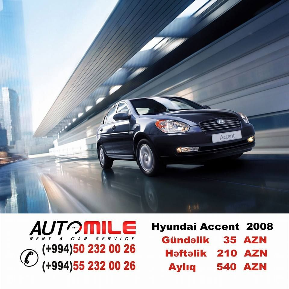Pin by AutoMile Rent a car on rent a car аренда