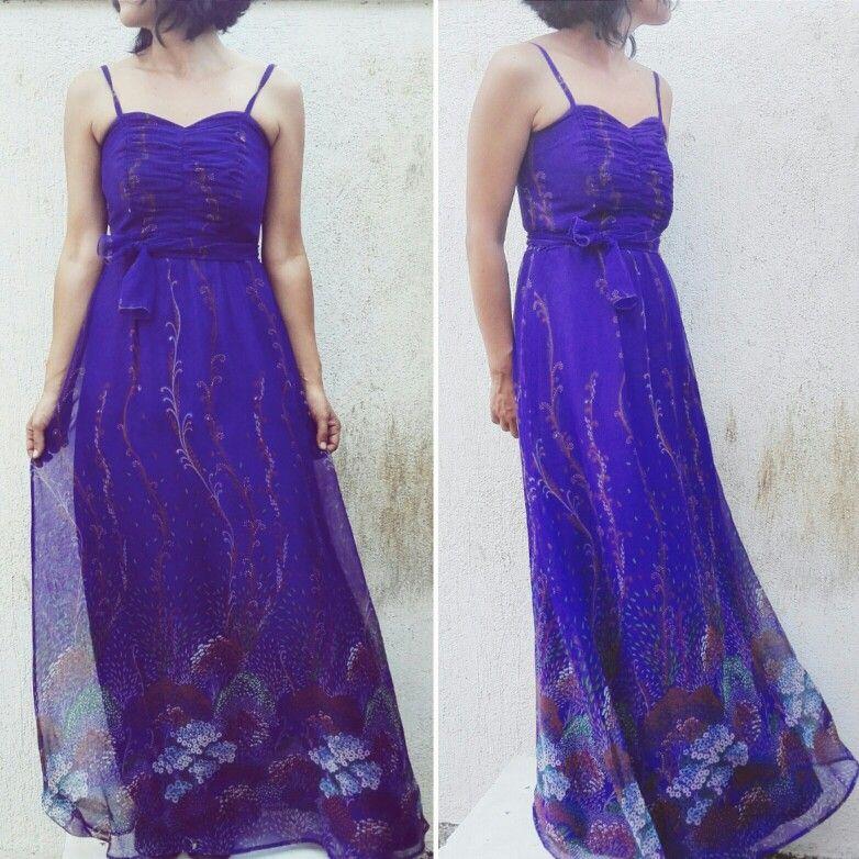 70s vintage longdress #dress #vintagedress #longdress #fashiondress #70s #70sdress #70sstyle #modcloth #vintage
