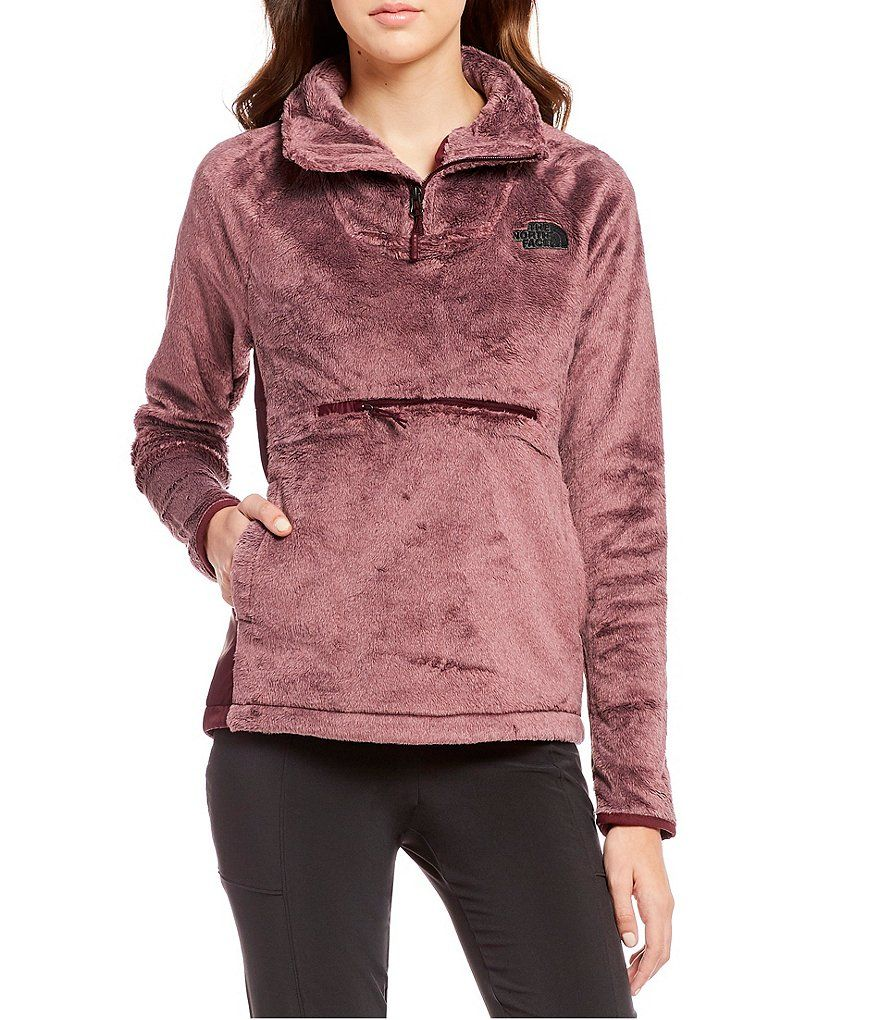 d6687803f The North Face Osito Sport Hybrid 1/4 Zip Stand Collar Pullover ...