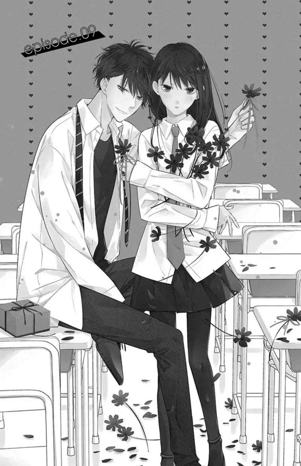 Tsuiraku JK to Haijin Kyoushi Manga image by