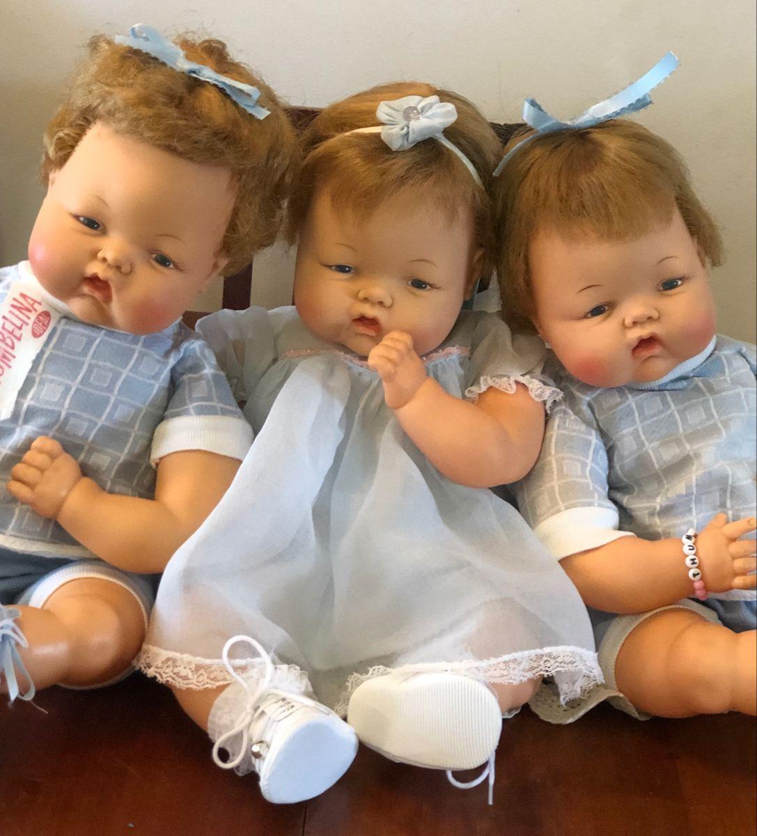 Thumbelina Dolls 19 Inch In 2020 Vintage Dolls Beautiful Dolls Baby Dolls