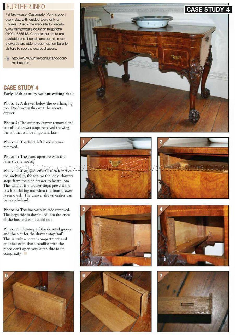 Furniture Secret Compartments Furniture Plans Wood Carving