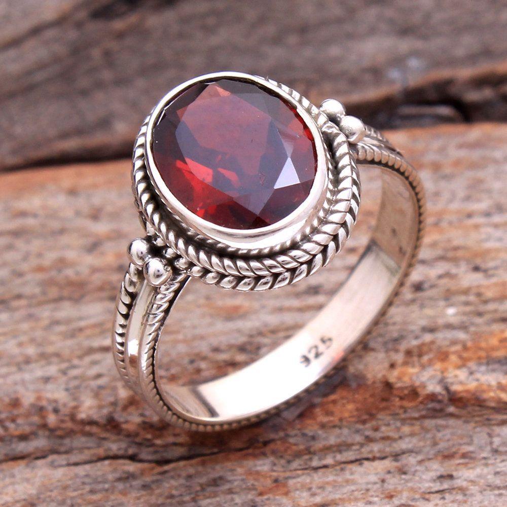 925 Sterling Silber Ringe für Frauen indischer Modeschmuck SJR-2955