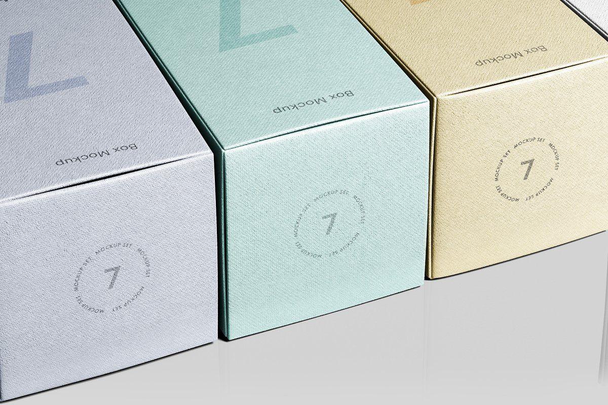 Download Box Mockup Vol 4 Box Mockup Bag Mockup Custom Scene