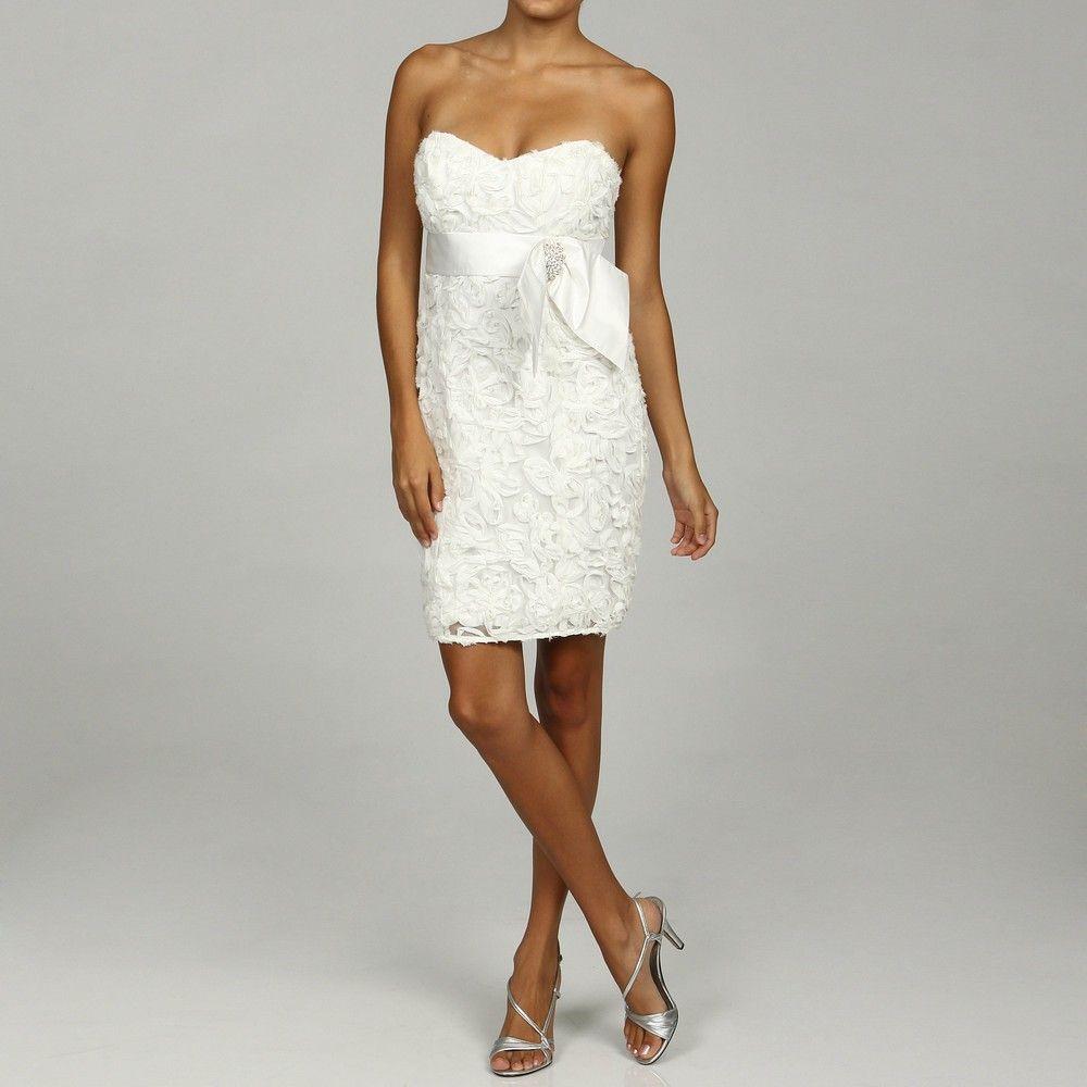 Wedding dresses richmond va  Engagement partybridal showerreception dress  Say Yes to the