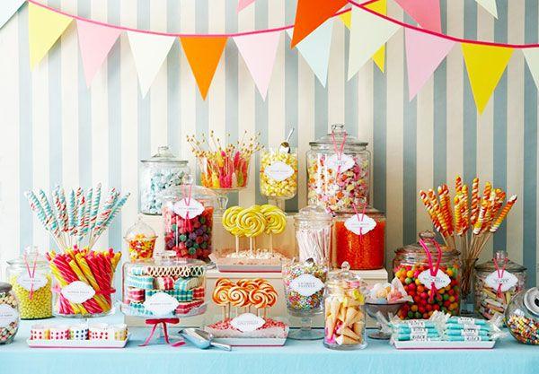 Как сделать кэнди бар на детский праздник в домашних
