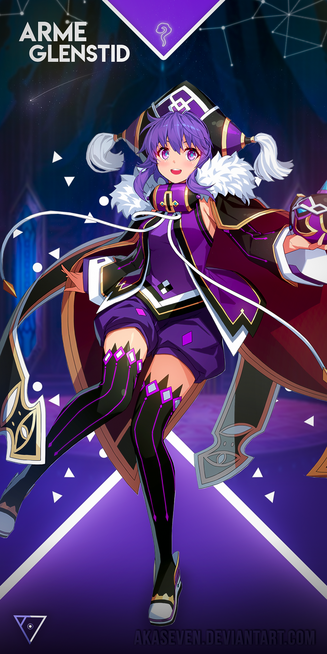 Cherry Chase Halloween 2020 GrandChase   Mobile Arme Warlock by AKASeven on DeviantArt in 2020