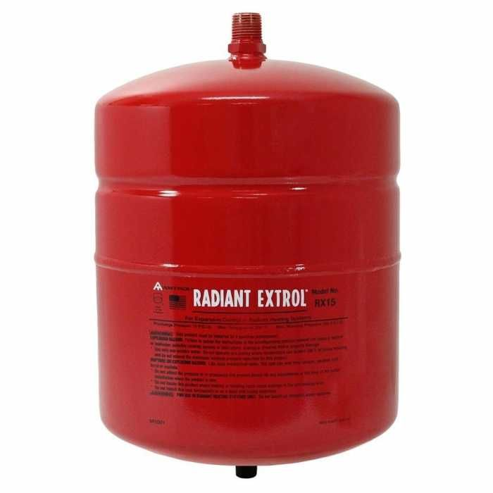 Amtrol 140 705 Radiant Extrol Rx 15 Expansion Tank 2 0 G The Expanse Radiant Heating System Radiant