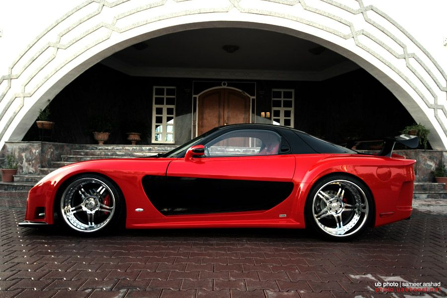 mazda rx7 fast and furious body kit. mazda with complete fortune veilside wide body kit rx7 fast and furious d