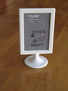 Cool Double Sided Photo Frame - #Ikea, of course