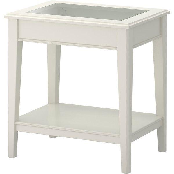 Ikea Liatorp Side Table White Gl