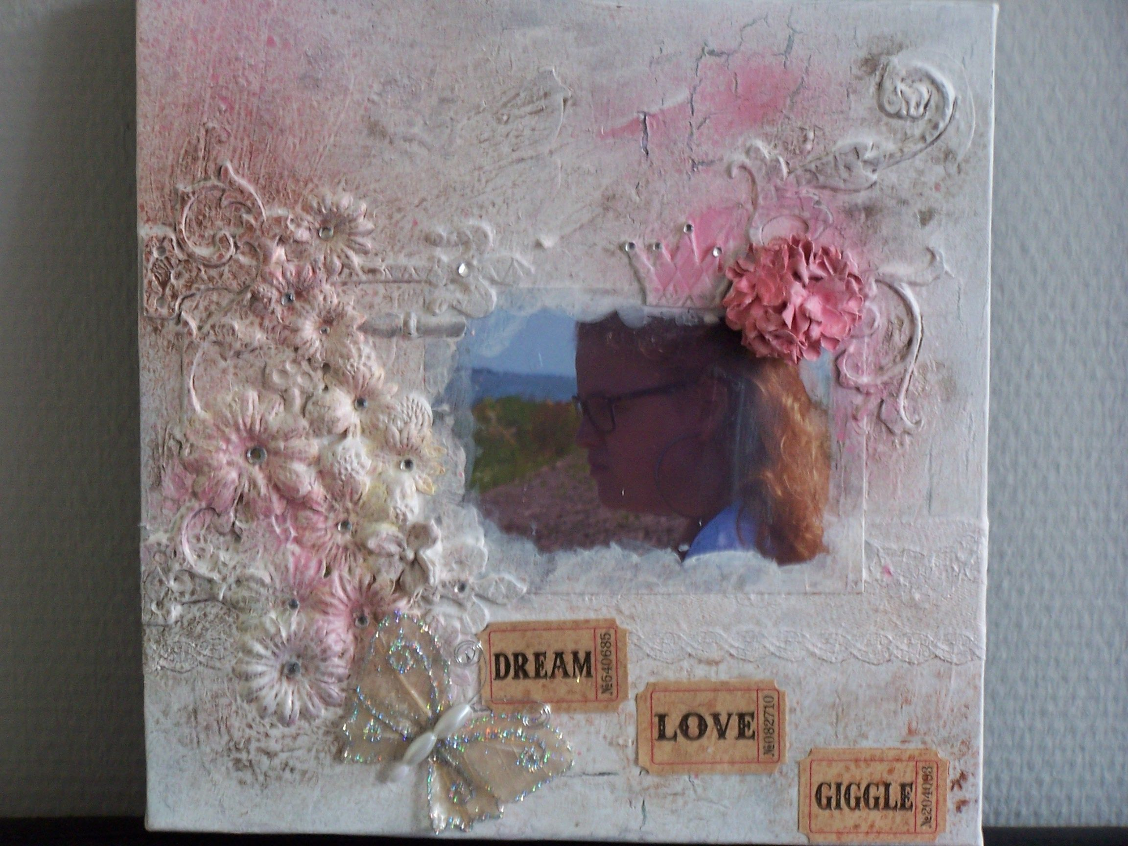 My first Mixed Media project.