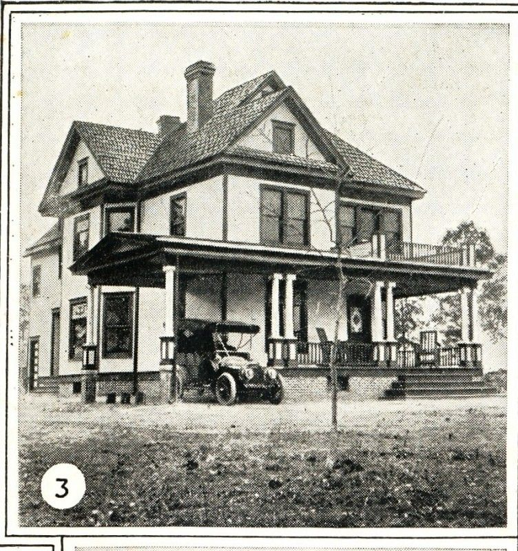 Sears modern home 119 mr lyle 39 s house in 1915 i like for Victorian kit homes