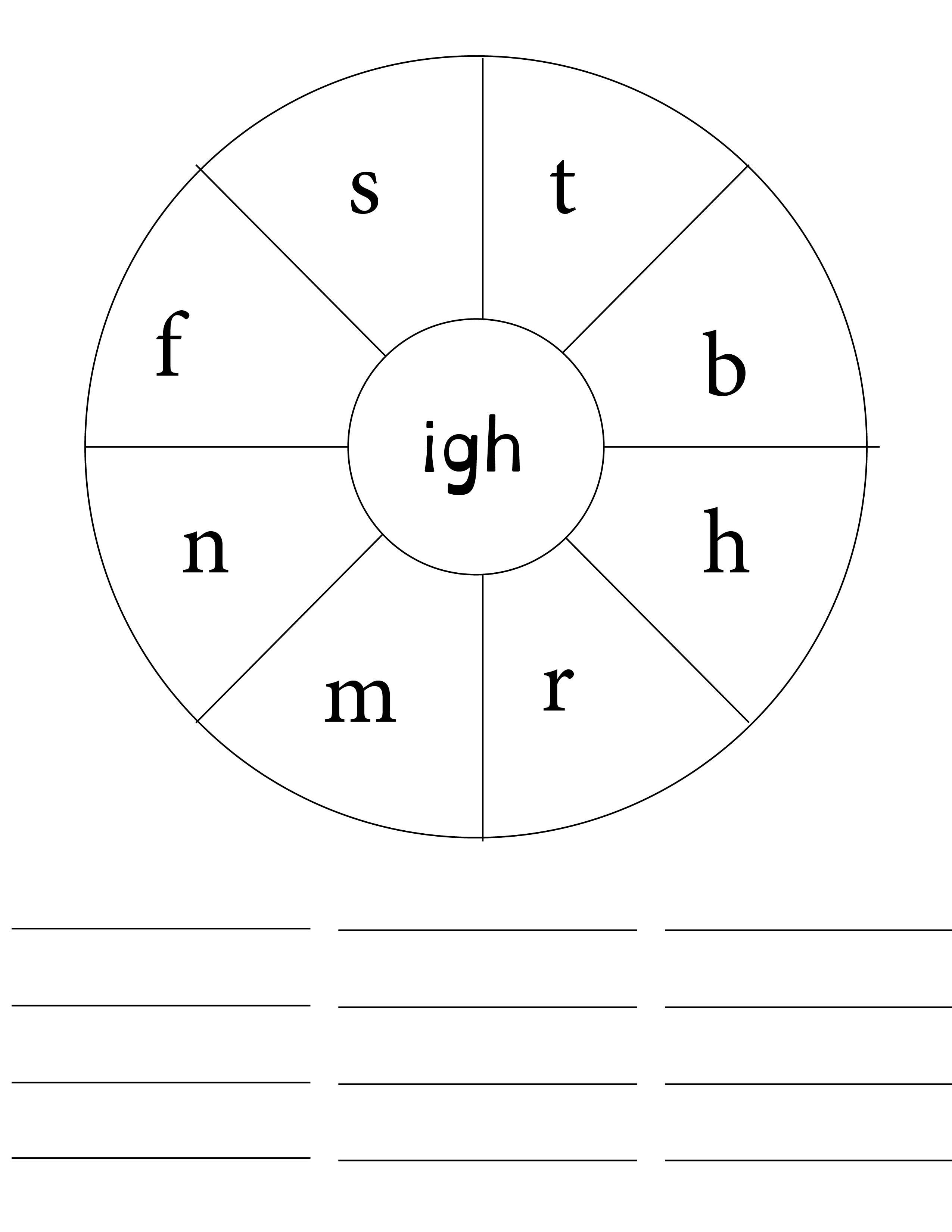 Make As Many Igh Words As You Can Letters Can Be Used
