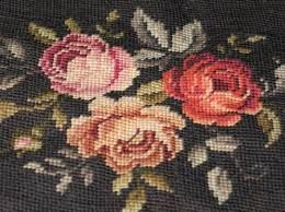 antique black needlepoint yarn - Google-Suche