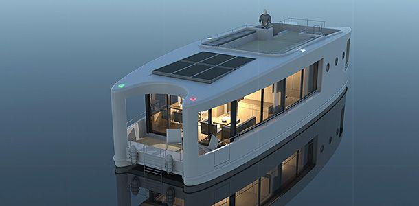 hausboot bader projekt libell houseboat pinterest. Black Bedroom Furniture Sets. Home Design Ideas
