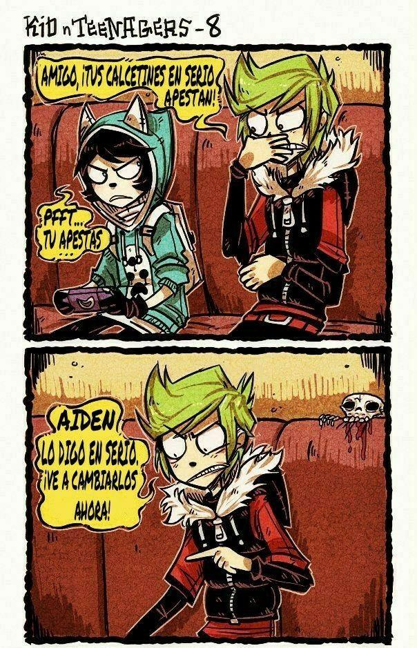 Bueno aquí publicaré el cómic en español. El comic NO es mío yo sólo … #humor # Humor # amreading # books # wattpad