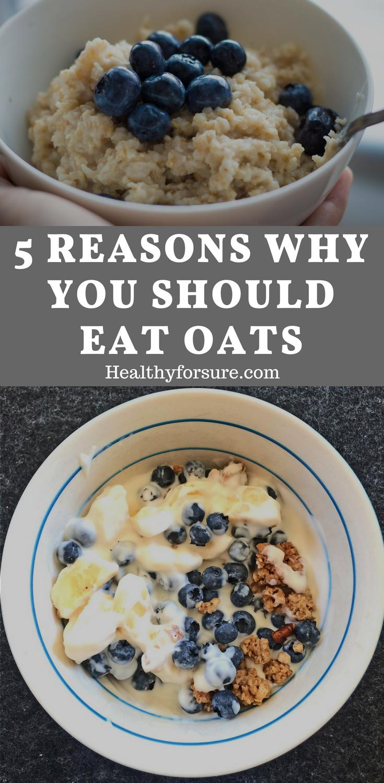 5 Reasons Why You Should Eat Oats   Overnight oats ...