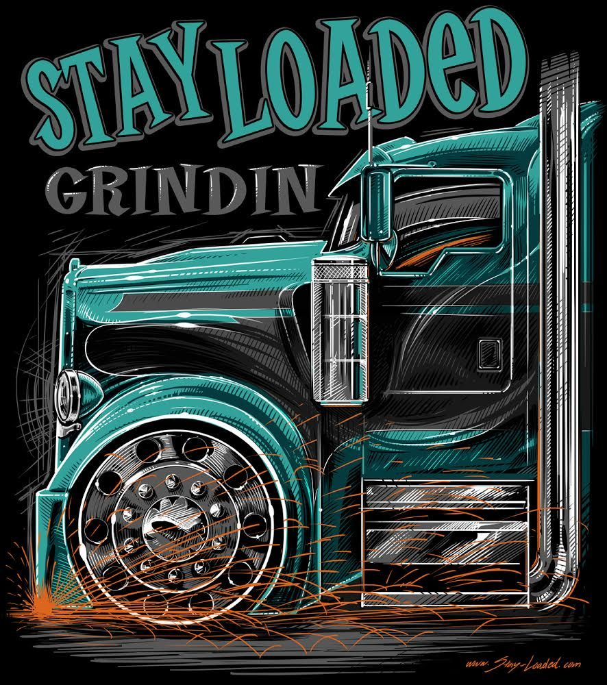 """Grindin' KW (b) """"Youth"""" Camiones kenworth, Camion dibujo"""