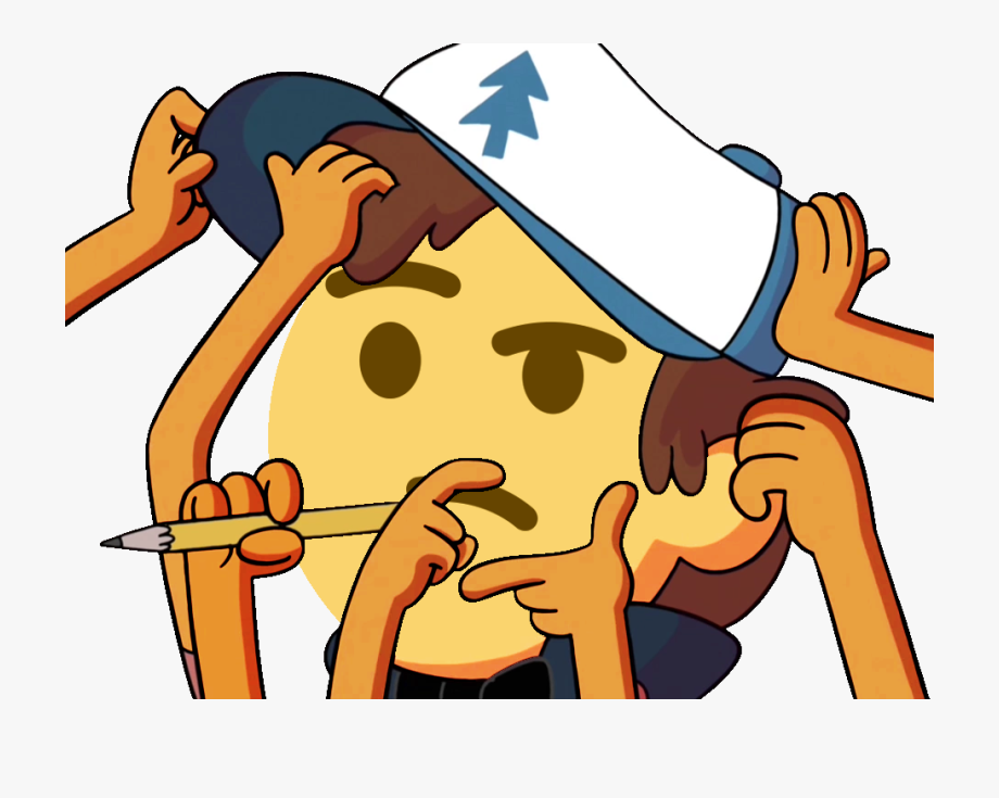 Anime Face Png Thinking Gravity Falls Emoji Discord Is Popular Png Clipart Cartoon Images Explore And Download More Related Imag In 2020 Anime Emoji Gravity Falls