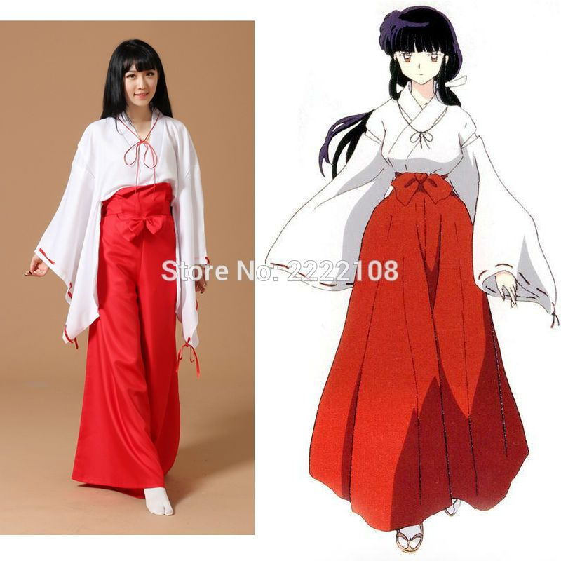 Inuyasha cosplay costume Custom Made Halloween