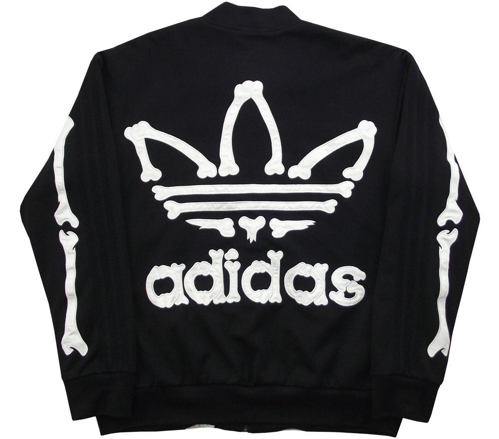 buy popular d36d0 799cb Adidas x Jeremy Scott Bones Jacket