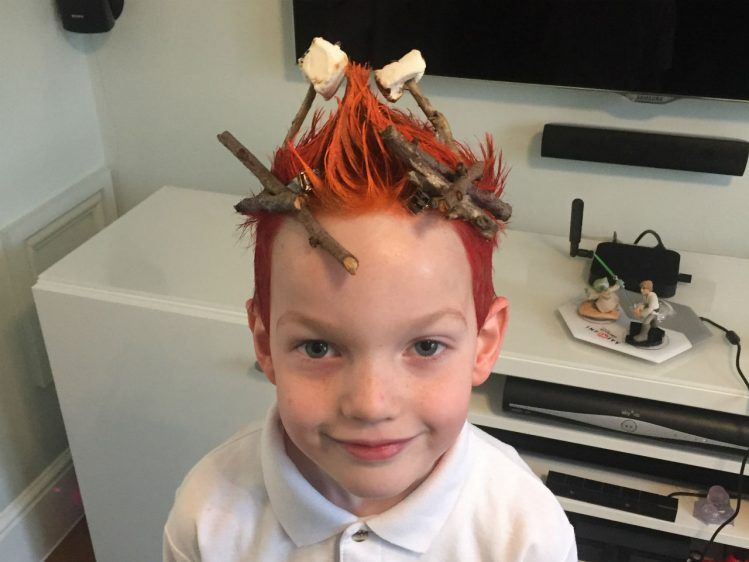 9 Silly Hair Day Ideas For Kids In 2020 Crazy Hair Days Crazy Hair For Kids Crazy Hair