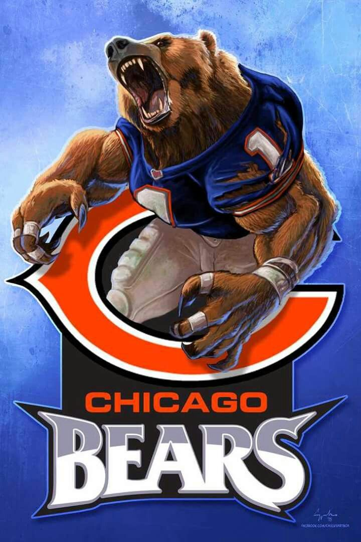 Go Bears Chicago Bears Logo Chicago Bears Pictures Chicago Bears Wallpaper