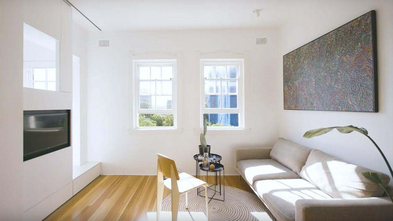 Never Too Small Ep 13 27m2 Tiny Apartment Design Darlinghurst