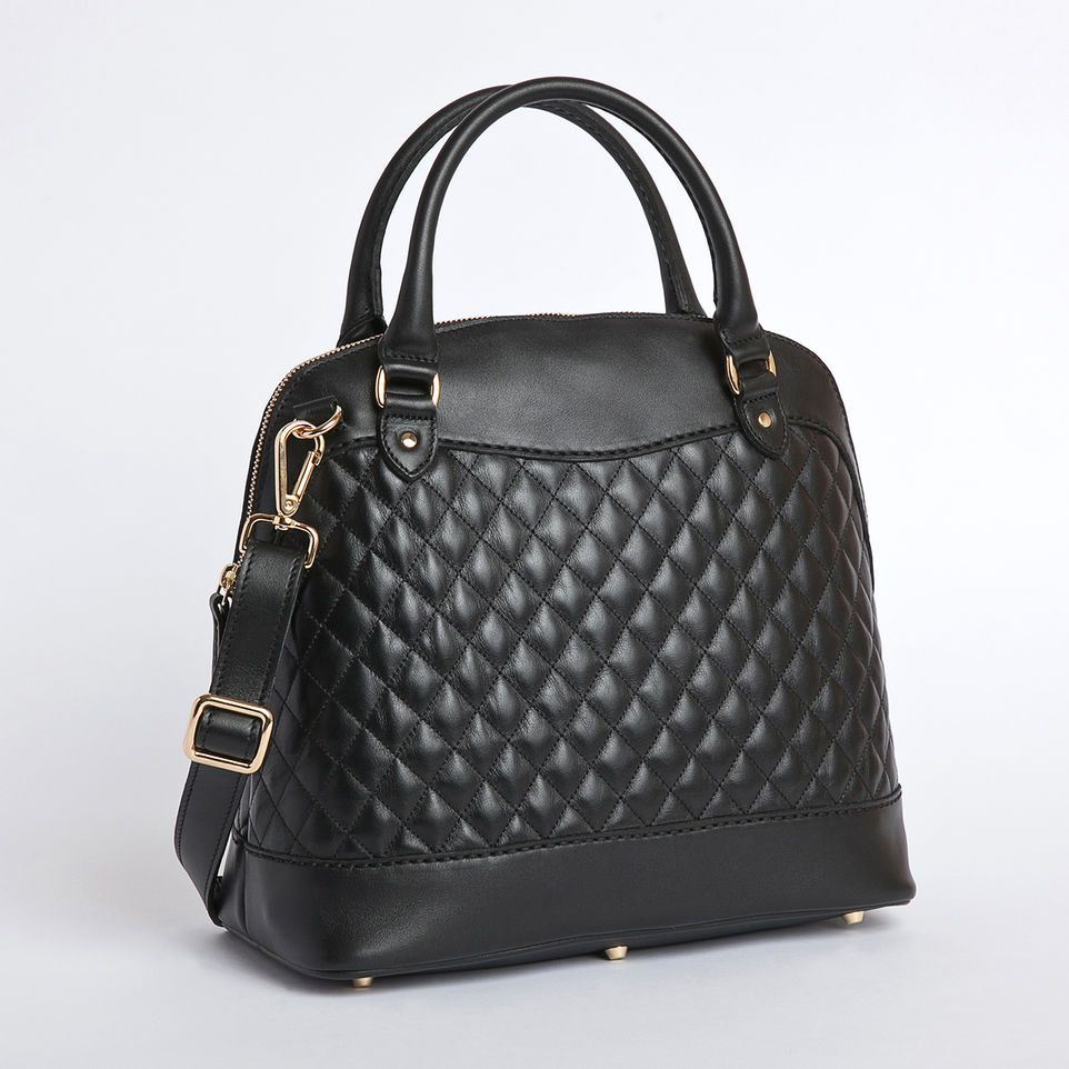 handbags leather grey the susu bag products quilt drizzle light quilted boxy manhattan