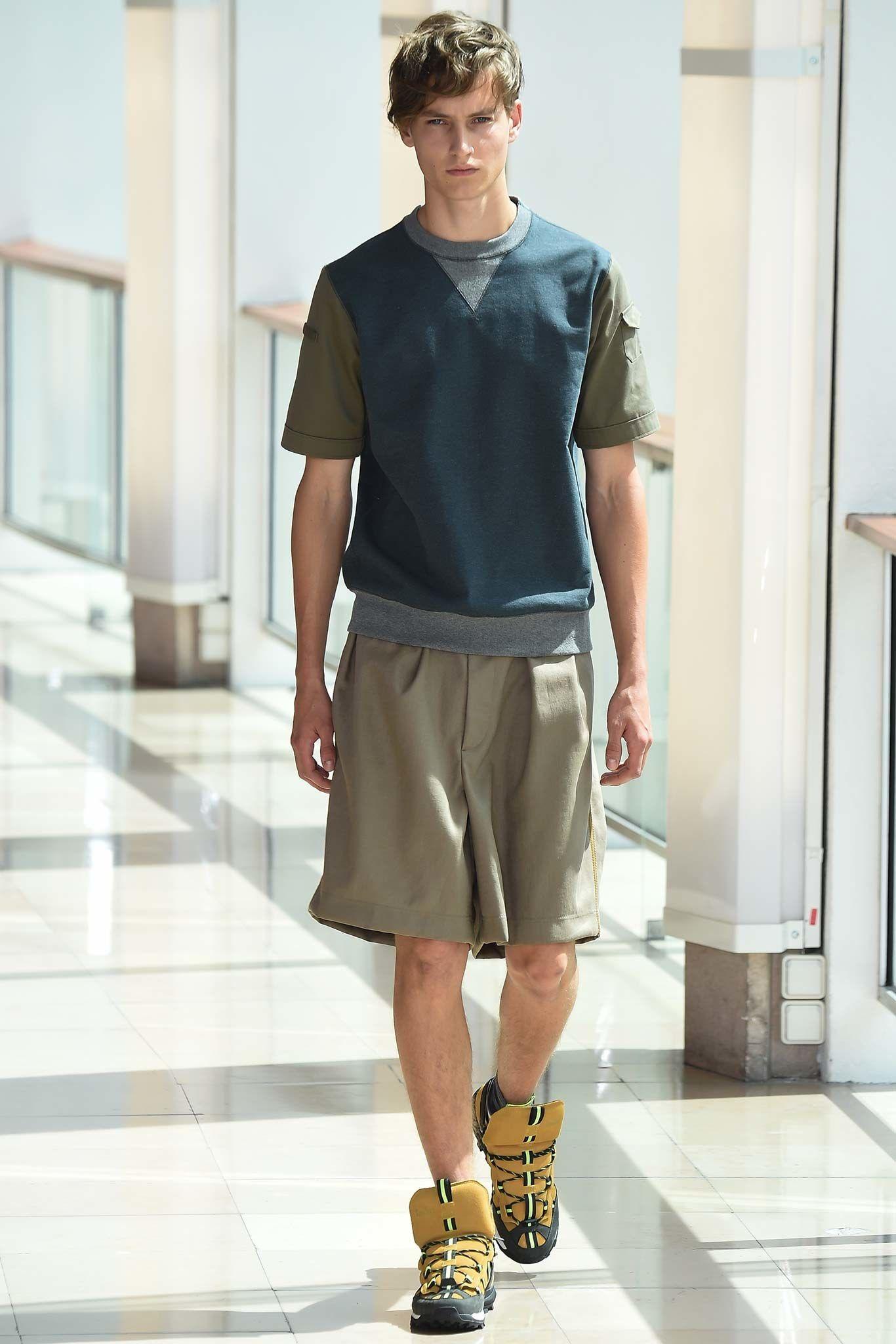 Kolor Spring 2016 Menswear Fashion Show